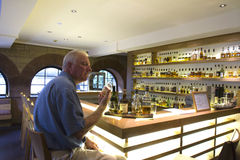 Whiskey Tasting Bar royalty free stock photos