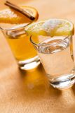 Whiskey and tequila Royalty Free Stock Image