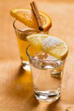 Whiskey and tequila Stock Photography