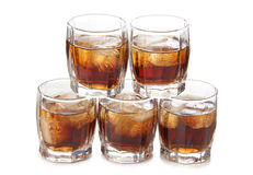 Whiskey whit ice Royalty Free Stock Photo