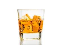 Whiskey on white background isolated Stock Photos