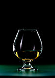 Whiskeyexponeringsglas Royaltyfri Fotografi