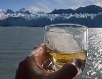 Whiskeyexponeringsglas Arkivbilder