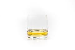 Whiskeyglass Στοκ Φωτογραφία