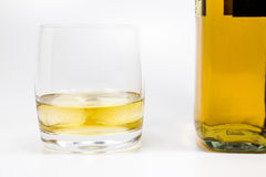 Whiskeyglass Στοκ εικόνες με δικαίωμα ελεύθερης χρήσης