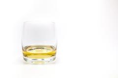 Whiskeyglass Στοκ φωτογραφίες με δικαίωμα ελεύθερης χρήσης