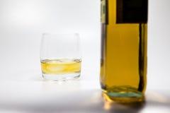Whiskeyglass Royalty-vrije Stock Foto's
