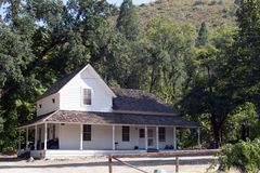 Whiskeytown Camden House Caretaker. S house in Whiskeytown National Recreation Area, California Royalty Free Stock Images
