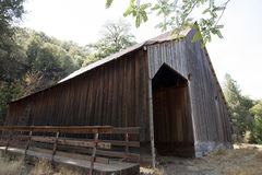 Whiskeytown Camden House Horse Barn Stock Image