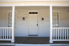 Whiskeytown Camden White House Porch Royalty Free Stock Images