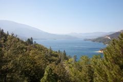 Whiskeytown Lake stock photo