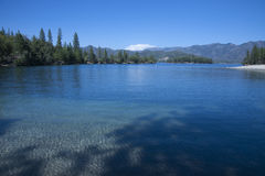 Whiskeytown Lake Beach Stock Photo