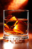 Whisky écossais sur une table Images libres de droits