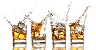 Whisky royaltyfria bilder