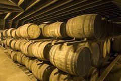 Whisky barn Royalty Free Stock Photo
