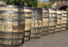 Whisky Barrel Royalty Free Stock Image