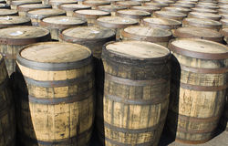 Whisky Barrel's Stock Image