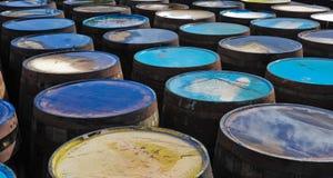 Whisky barrels Stock Photography
