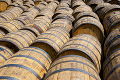 Whisky barrels Royalty Free Stock Photography