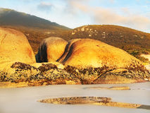 Whisky Bay Beach, Wilsons Promontory. Landscape shot of the sunset at Whisky Bay Beach, Wilsons Promontory, Victoria, Australia Stock Photography