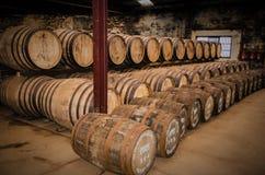 Whisky beczki Fotografia Stock