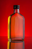 Whisky bottle Stock Photography