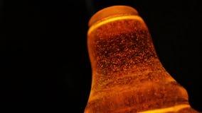 Whisky bubblar ultrarapid stock video