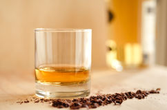 Whisky and chocolate Royalty Free Stock Images