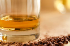 Whisky and chocolate Stock Photos
