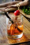 Whisky-Cocktail Stockbilder