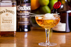 Whisky Cocktail Stock Image