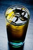 Whisky con cola Fotografía de archivo