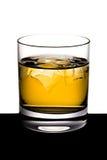 Whisky con hielo Fotos de archivo libres de regalías