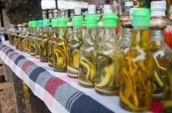 Whisky de la serpiente Imagen de archivo libre de regalías