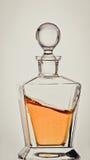 Whisky in decantatore Fotografie Stock Libere da Diritti