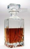 Whisky dekantatoru przyrodni pełny z duchem Fotografia Stock