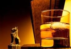 Whisky del art déco Fotos de archivo libres de regalías