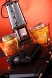 Whisky del minatore delle miniere di carbone immagine stock libera da diritti