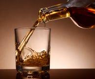 Whisky di malto Fotografia Stock