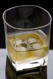 Whisky di vetro Immagini Stock Libere da Diritti