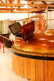 Whisky distillery. Interior of whisky distillery, Cape Breton, Nova Scotia Royalty Free Stock Photo