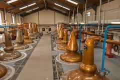 Whisky Distillery in Glenfiddich Scotland Royalty Free Stock Photos