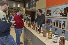 Whisky Dram Festival in Kiev, Ukraine Stock Photos
