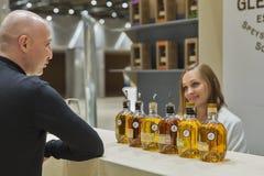 Whisky Dram Festival in Kiev, Ukraine Royalty Free Stock Image