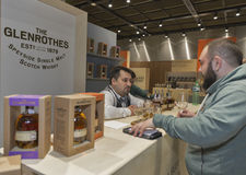 Whisky Dram Festival in Kiev, Ukraine Stock Photo