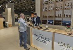 Whisky Dram Festival in Kiev, Ukraine Stock Photo