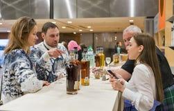 Whisky Dram Festival in Kiev, Ukraine. royalty free stock photography