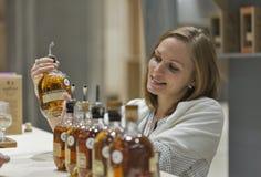 Whisky Dram Festival in Kiev, Ukraine Royalty Free Stock Photos
