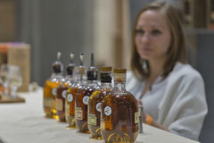 Whisky Dram Festival in Kiev, Ukraine Royalty Free Stock Images