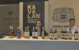 Whisky Dram Festival in Kiev, Ukraine Stock Photography